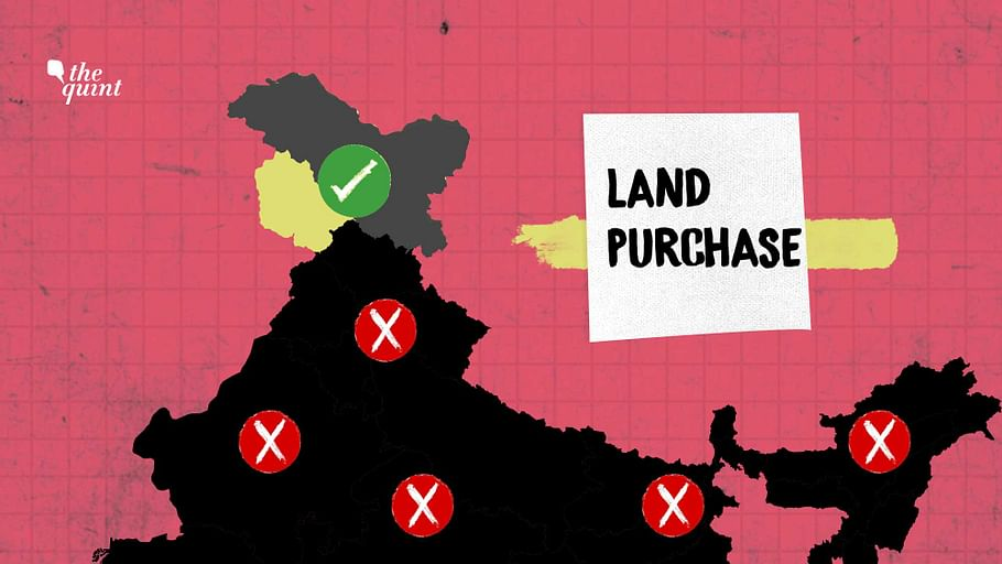 land purchase in india