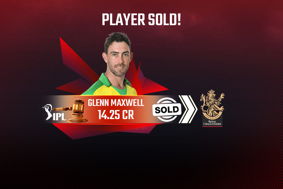 Glenn Maxwell Sold To Royal Challengers