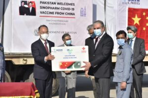 Pakistan receives first COVID