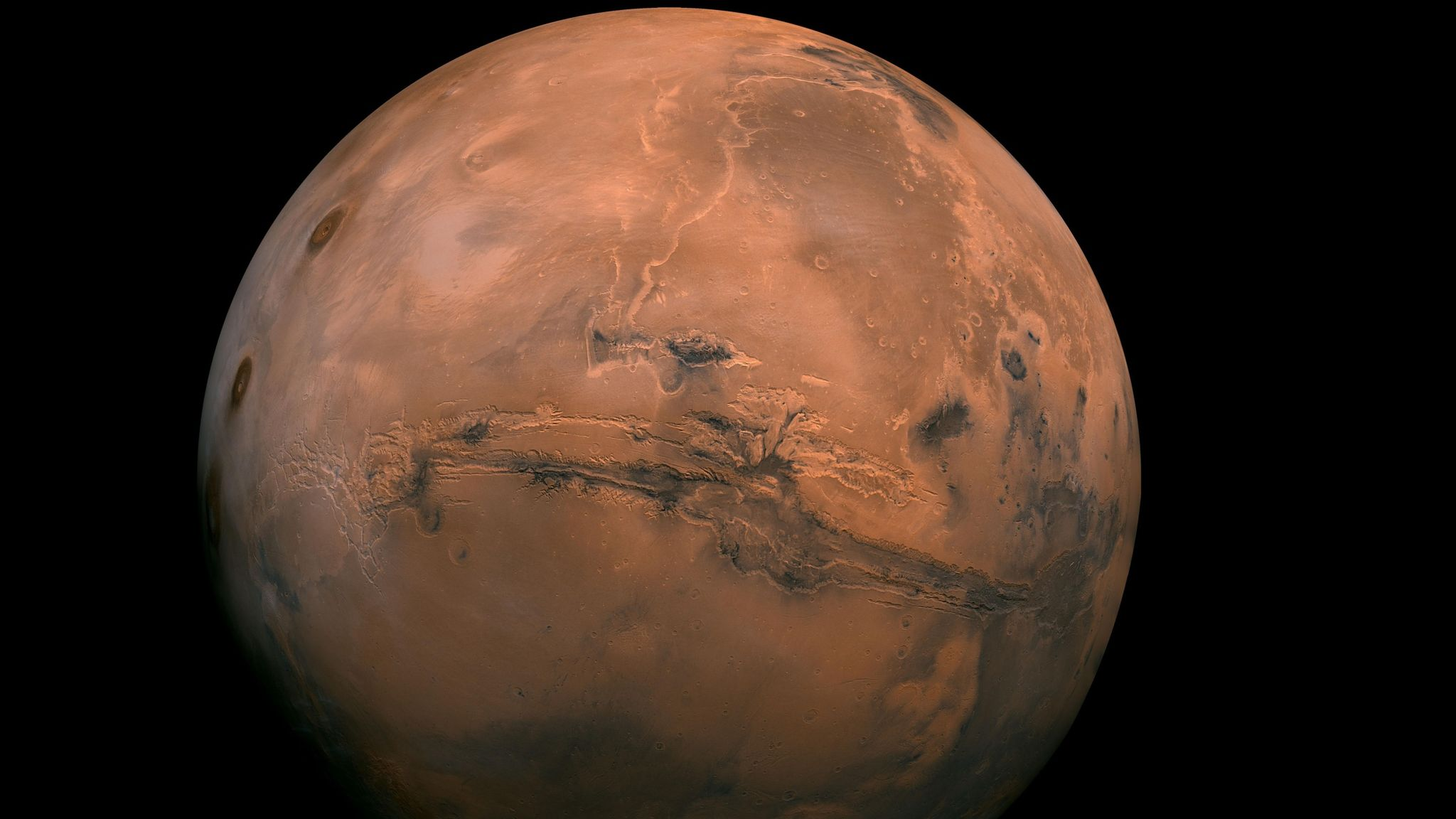 UAE's Hope probe sends back its first image of Mars